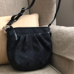 Coach Cross-Body Bag with Pockets